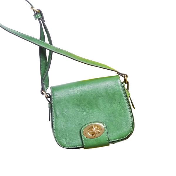photo of green purse