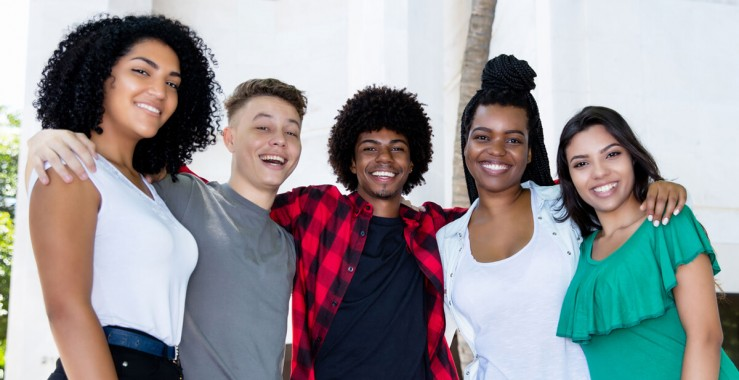 Photo of 4 young people